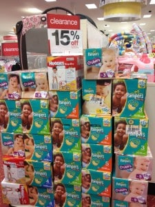 Target Diaper Clearance!