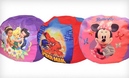 Every Kid Needs A Beanbag Chair They Are Perfect For Cozying Up With Good Book Or Just Resting You Can Grab Kids Cartoon Character Print