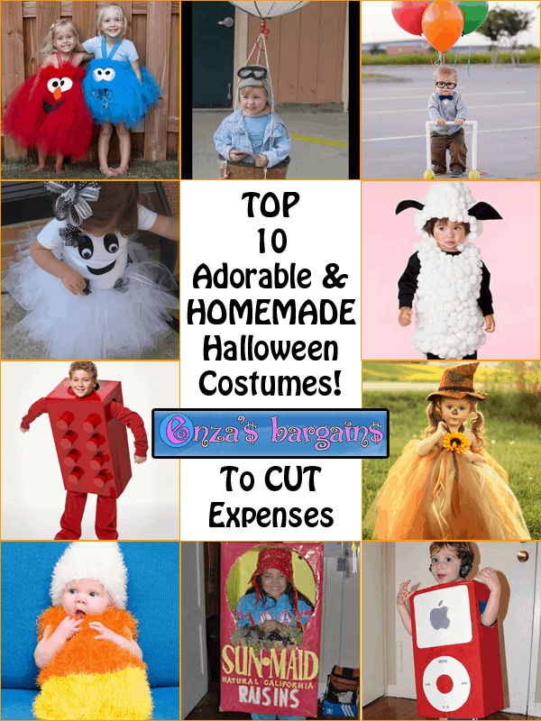 Dressing my little girl for Halloween ...  sc 1 st  Enzau0027s Bargains & Top 10 ADORABLE Homemade Halloween Costumes to Cut Expenses ...