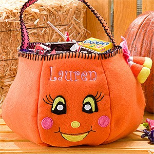 Update Personalized Pumpkin Trick Or Treat Bag Only 12 Shipped Limited