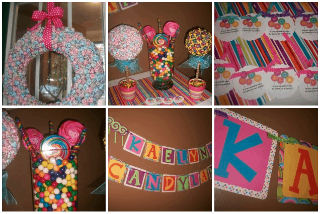 Follow Me on Pinterest. When coming up with Birthday themes ...  sc 1 st  Enzau0027s Bargains & Candyland Theme Birthday Party: Frugal Idea - EnzasBargains.com