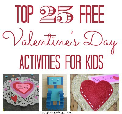 Top 25 FREE Valentine's Day