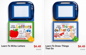 Learn to Write and Draw books ONLY $4.49 Shipped