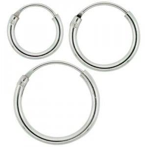 tanga sterling silver earrings
