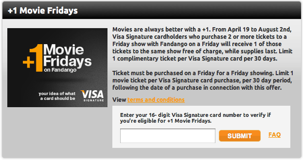 +1 Movie Fridays