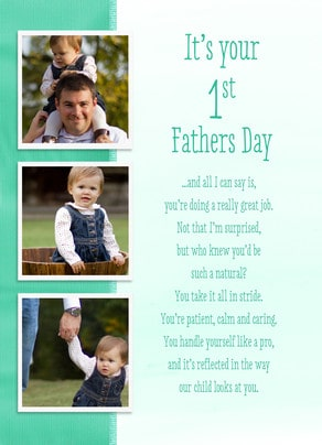 1st fathers day