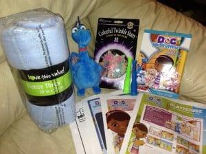 doc mcstuffins prize pack