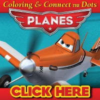Disney's Planes Activity Pages