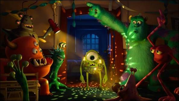 Monsters University New Video
