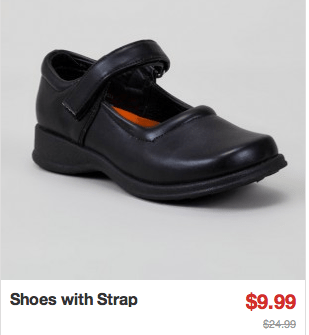 shoes with strap