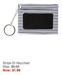 stripe ID keychain
