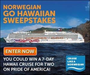 Norwegian Hawaii contest