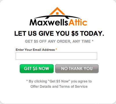 maxwells attic