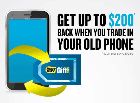 Best Buy Mobile Trade In: Can be used at specialty stores and some select Best Buy stores!