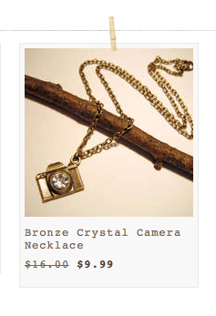 cam necklace belle chic