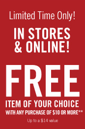 Bath and Body Works FREE Product