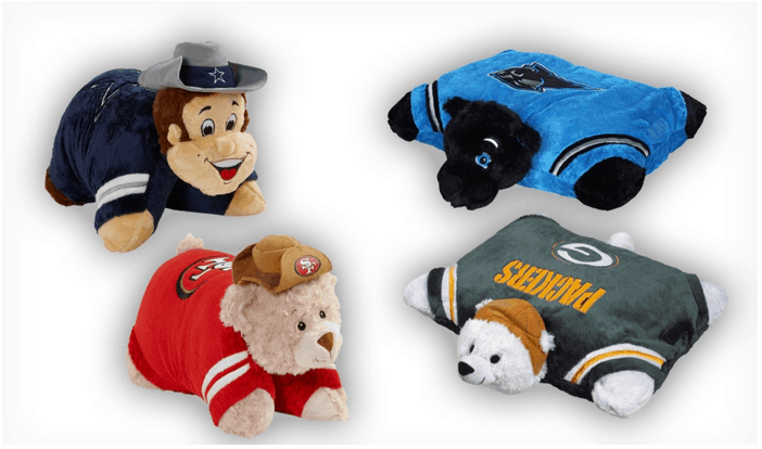 NFL MINI PILLOW PETS