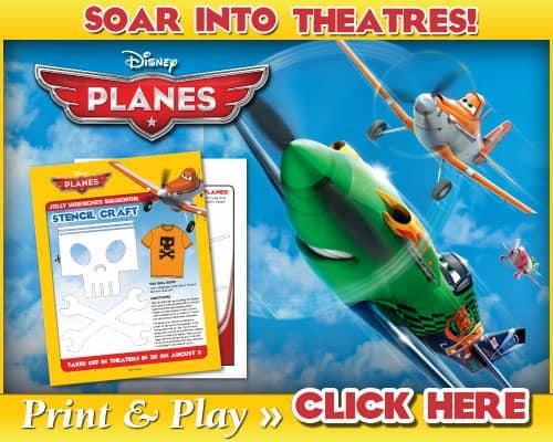 Planes Kids Activities