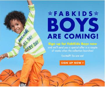 fab kids boys