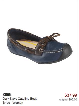 navy catalina boat shoe