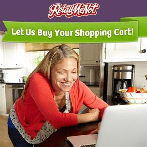 retailmenot shopping cart