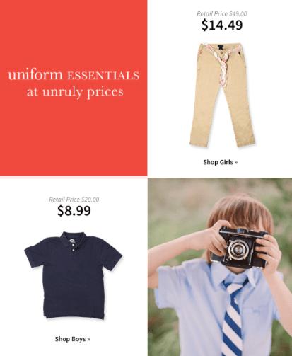 thredup uniforms