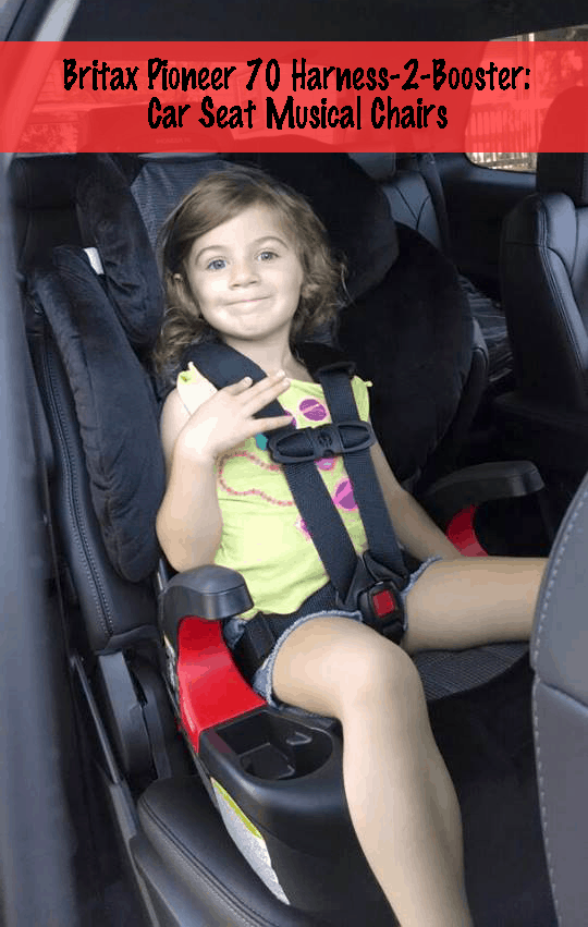 Britax Pioneer 70 Harness 2 Booster Car Seat Musical