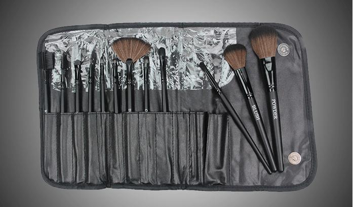 12 piece makeup brush
