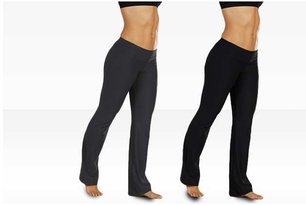 bally flat waist pants