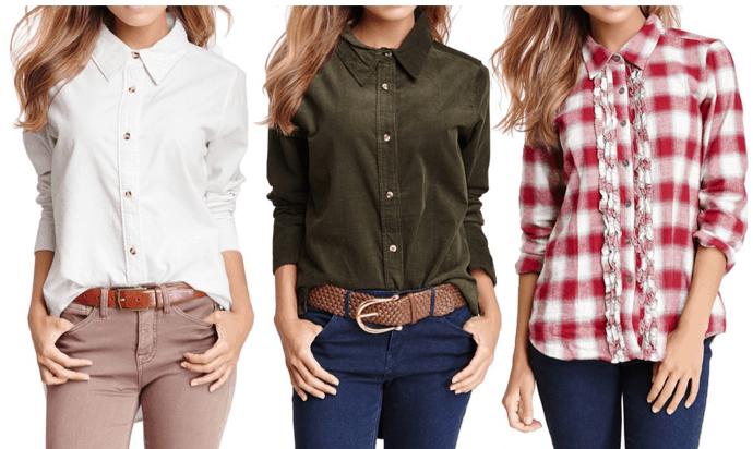 button down womens shirt