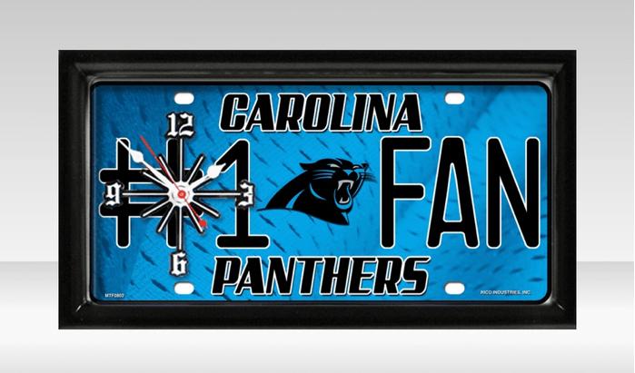 nfl license plate