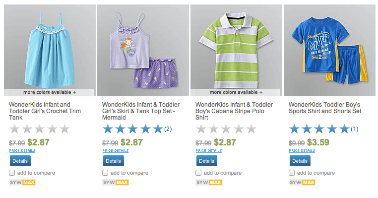 sears summer clothes