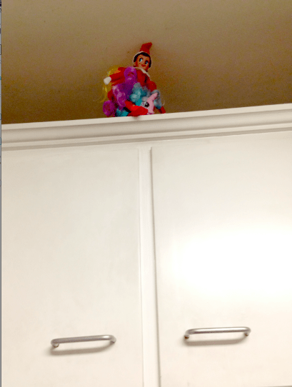 My Little Pony Elf on Shelf