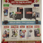 Black Friday 2013 Gamestop Ad:  $19.99 Just Dance, 50% Off Xbox Games, B2G1 Select Electronics