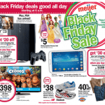 Black Friday 2013 Meijer Ad:  $38 Tennis Shoes, $40 Dollhouses, $10 Video Games!