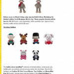 Black Friday 2013 Build A Bear Ad:  Sock Monkeys - 2 For $15!
