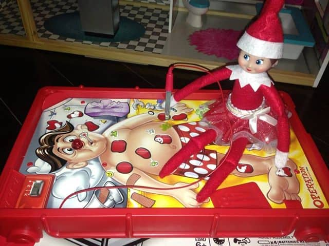 elf playing operation