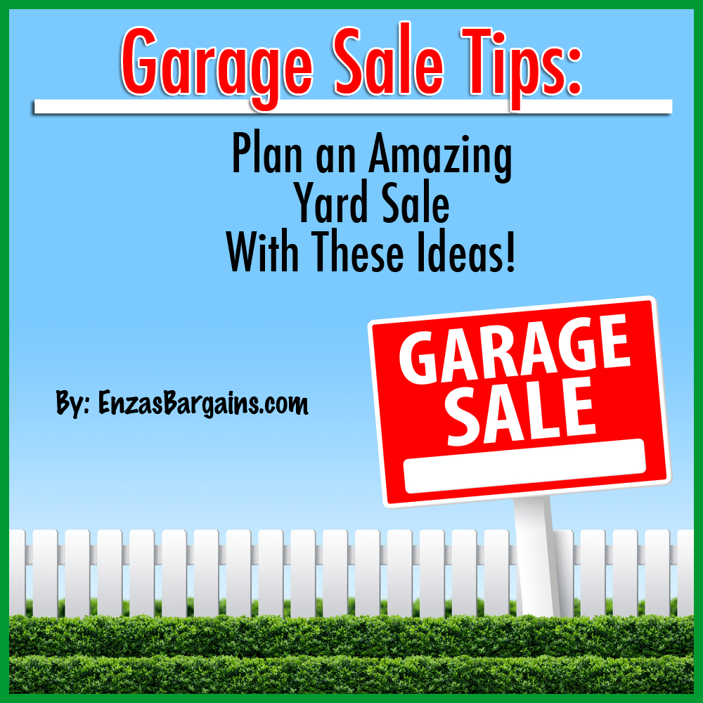 Garage Sale Tips Plan a Successful Yard Sale With These Ideas – How To Plan A Garage Sale