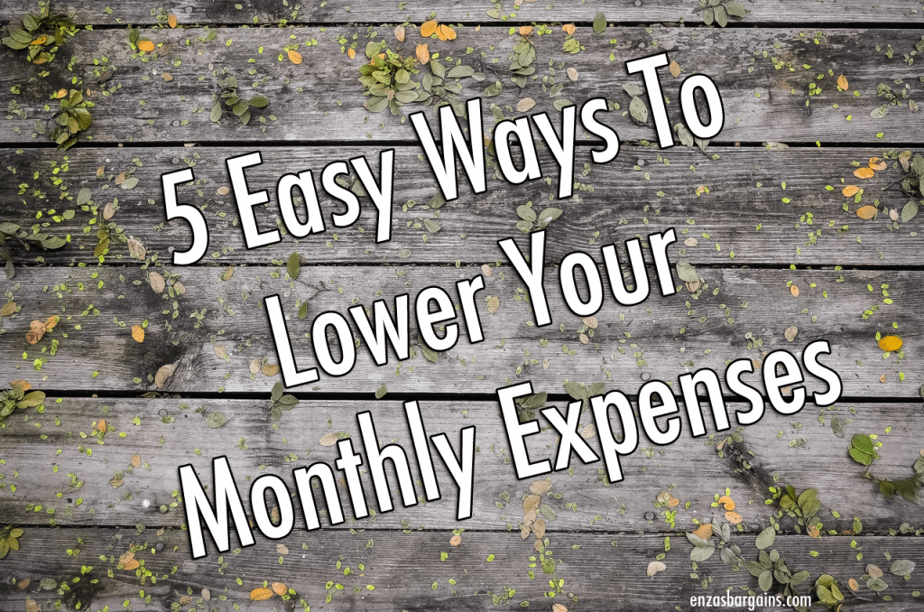 Lower Your Monthly Expenses