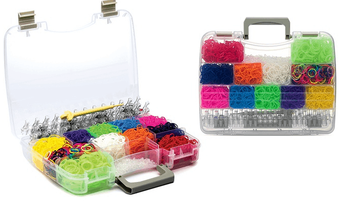 loom bands storage and travel