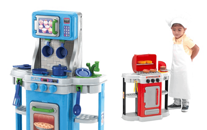 1st kitchen bbq play set