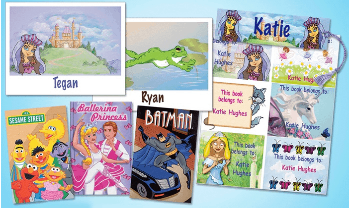 personalized kid books