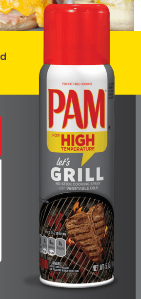Win a FREE product coupon for Pam Grill Grilling and other great prizes with their Instant Win Game!