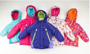 rugged bear girls ski jacket