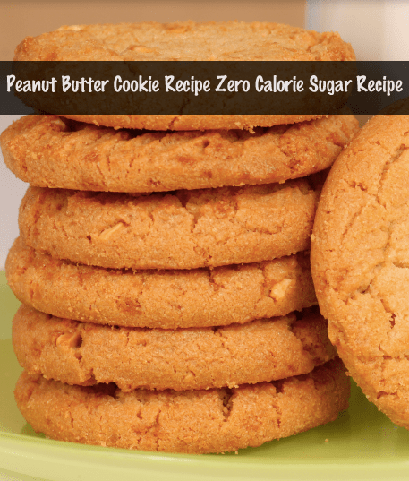 Peanut Butter Cookie Recipe with Sweet'N Low saving calories! VERY YUMMY!
