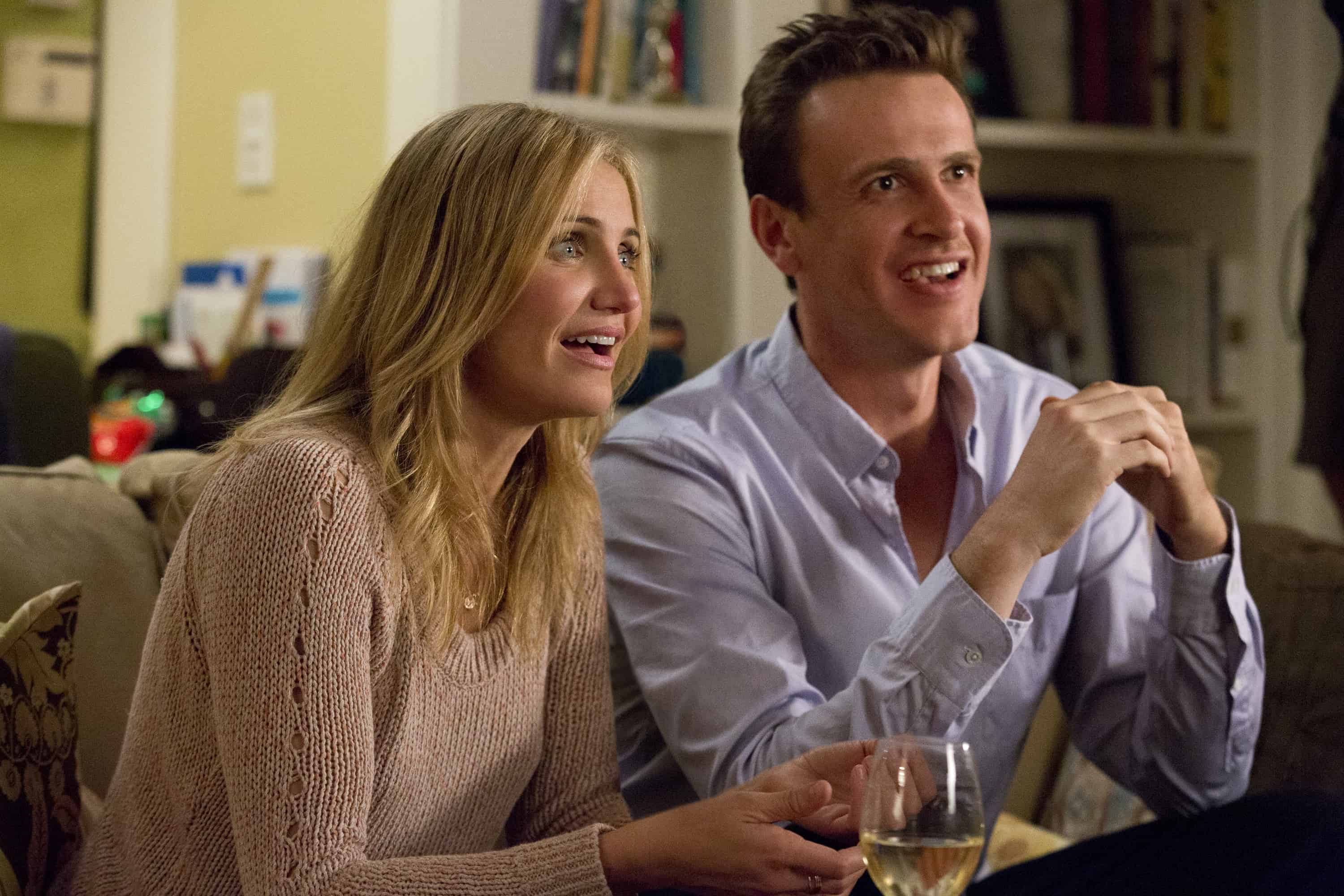 Annie (Cameron Diaz and Jay (Jason Segel) in Columbia Pictures' comedy SEX TAPE.