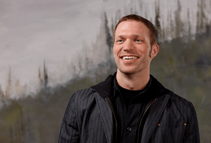 Travis Knight: CEO, President and Lead Animator for LAIKA.  The Boxtrolls Press Trip.