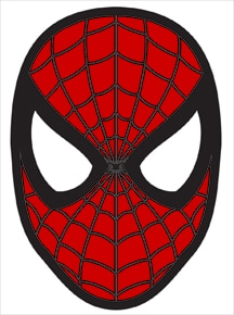 Elf On The Shelf Spider Man Mask Free Printable Mask