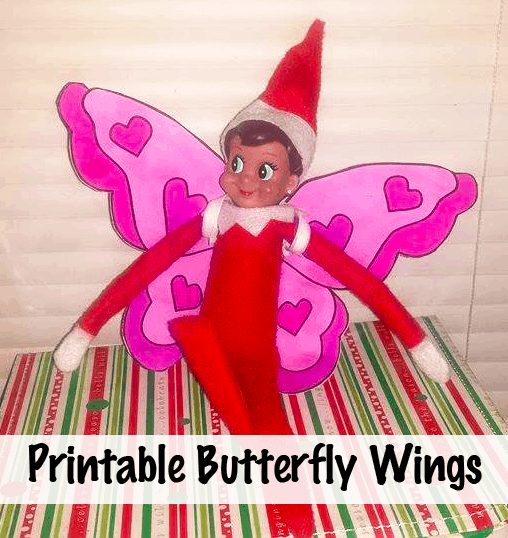 Elf on the Shelf Butterfly