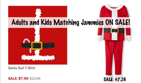 Santa Matching Pajamas